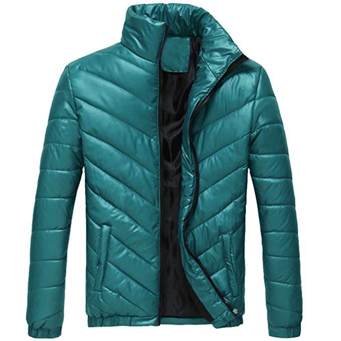 Amazon.com : 2019 Men New Coat, Mens Warm Soild Stand ...