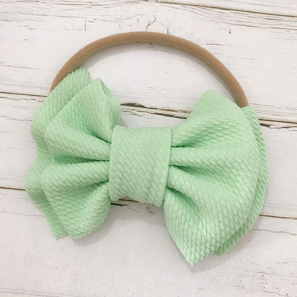 Girls Hair Elastic Bow Tie Bands Infant Toddler Newborn Girl Hair Accessories