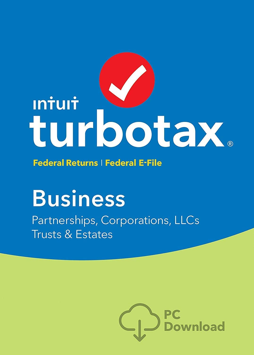TurboTax Business 2018 (Partnerships, Corporations, LLCs, Trusts & Estates) [PC Download]