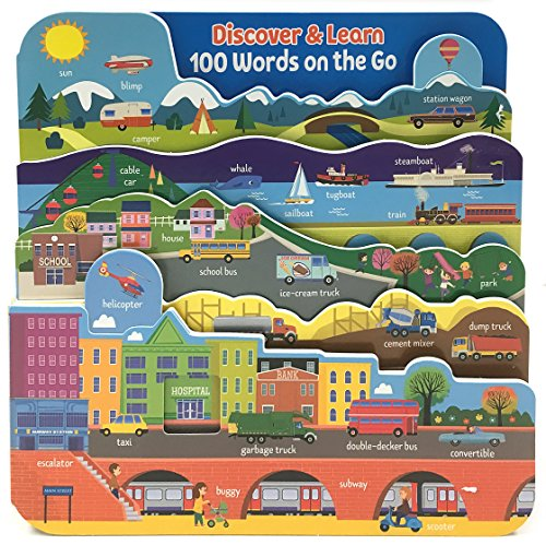 100 Words on the Go: Interactive Board Book (Discover & Learn)
