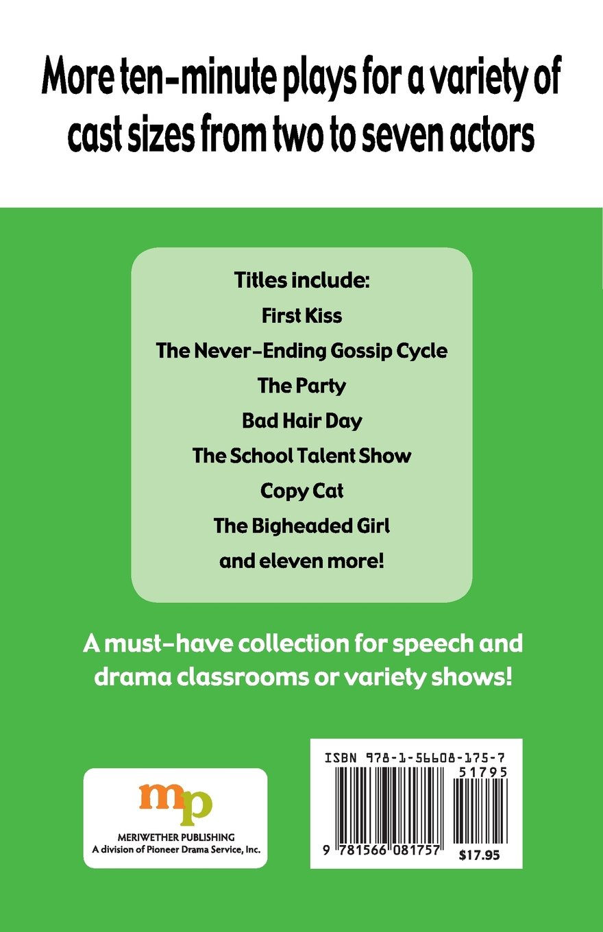 More Ten-Minute Plays for Middle School Performers: Plays for a