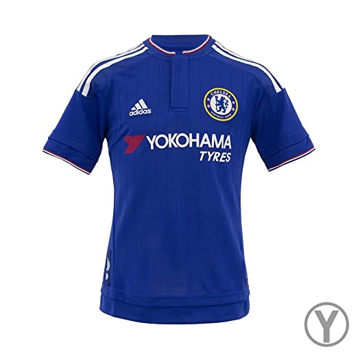39ea40754 Amazon.com: Adidas Youth Chelsea Home Replica Soccer Jersey: Clothing