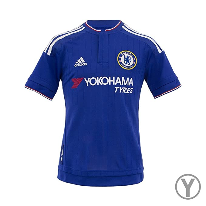 size 40 2b7fc bdf34 Adidas Youth Chelsea Home Replica Soccer Jersey