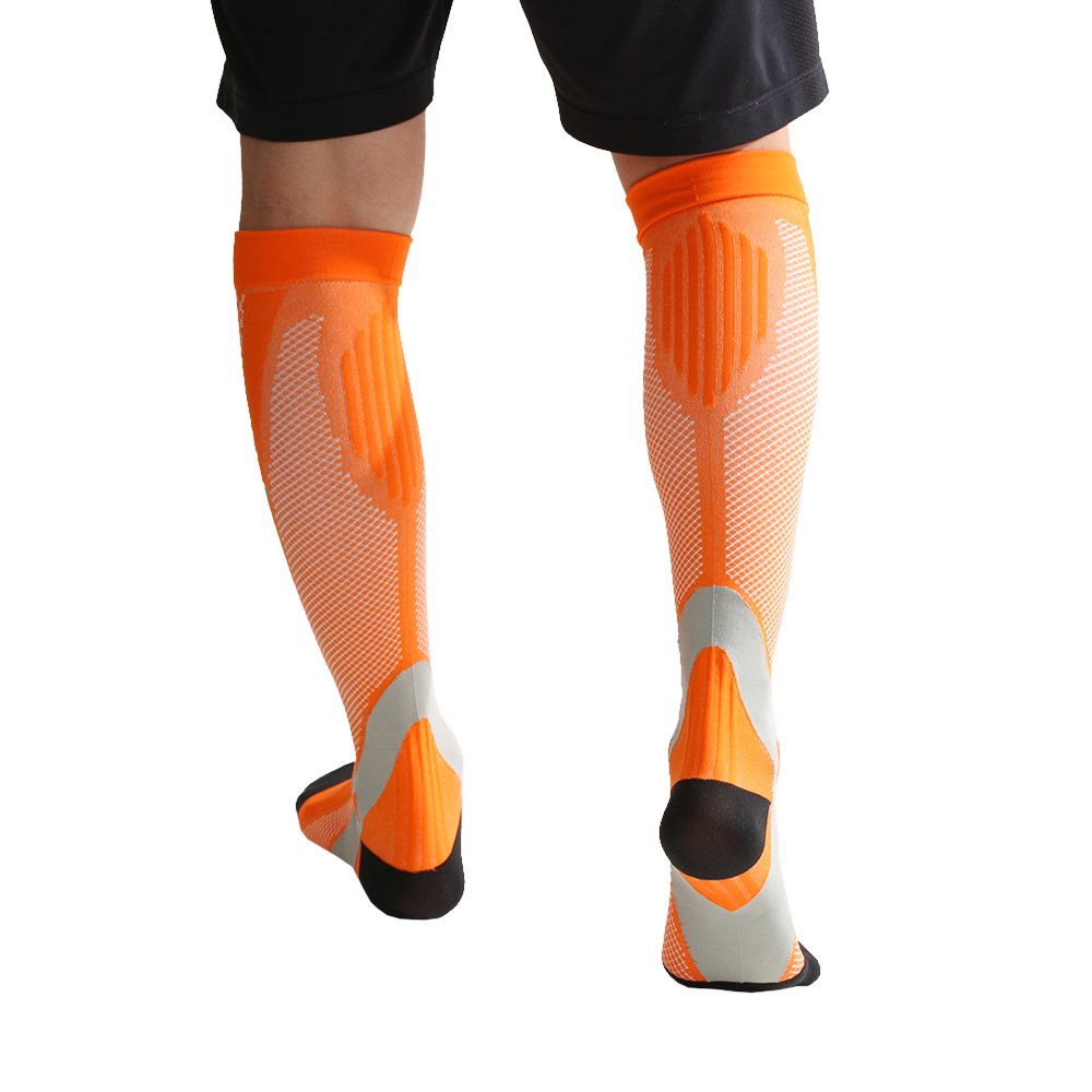 dayoly Kompressionssocken für Herren und Damen, abgestufte geeignet, ergonomisch geformt, für verbesserte Blutzirkulation, verhindert blutgerinnseln Speed Recovery, zum Laufen, für Krankenschwestern, mit schienbeinschmerzen, Krampfadern, für Reisen, Schwa