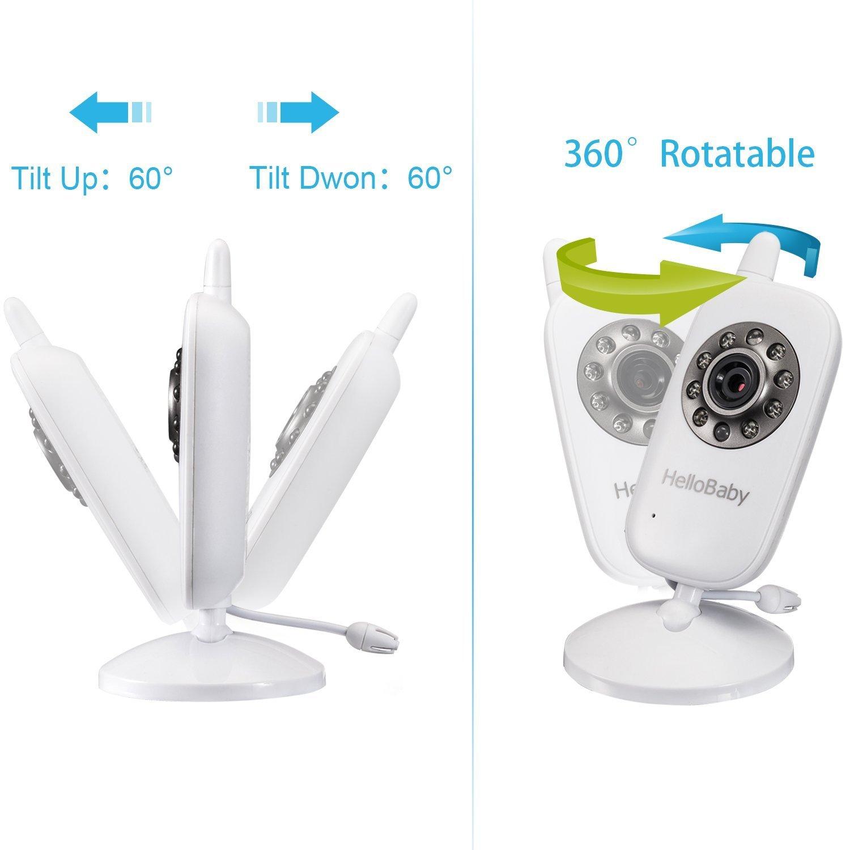 Hello Baby Wireless Video Baby Monitor with Digital Camera
