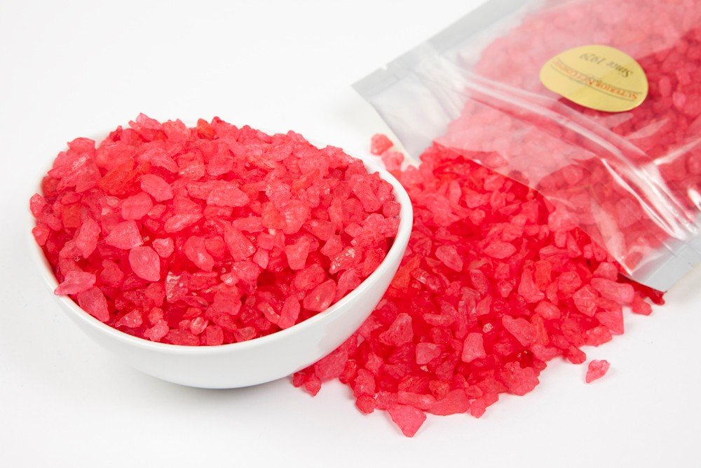 how to make hard rock candy crystals