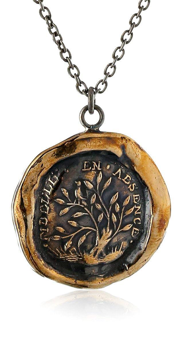 Pyrrha Bronze Fidelity Talisman Necklace BN1824-18
