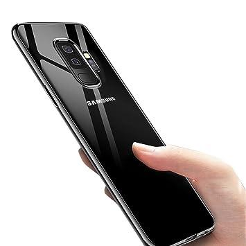 Migimi Funda Samsung Galaxy S9 Plus, Carcasa Samsung Galaxy S9 Plus Silicona TPU Bumper Case Shock-Absorción Ultra Slim Crystal Caso para Samsung ...