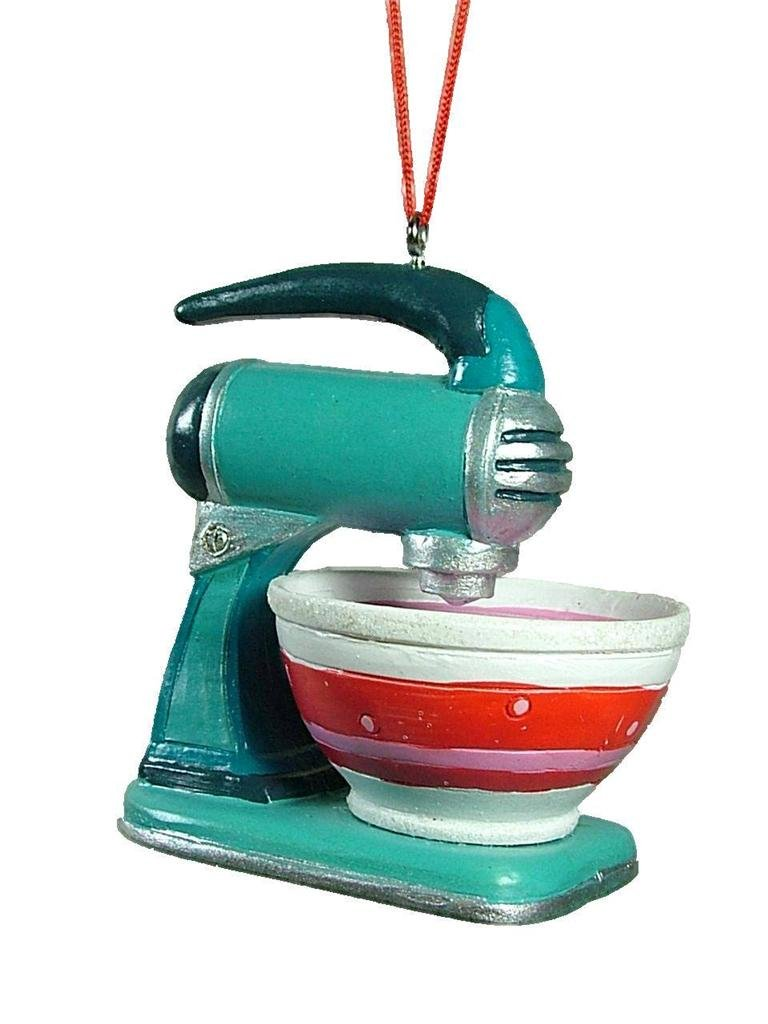 Amazon.com: Vintage Style Stand Mixer with Bowl Christmas Tree ...