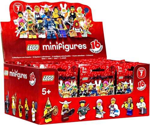 LEGO Minifigure Collection Series 7 Mystery Bag Box 60 Packs