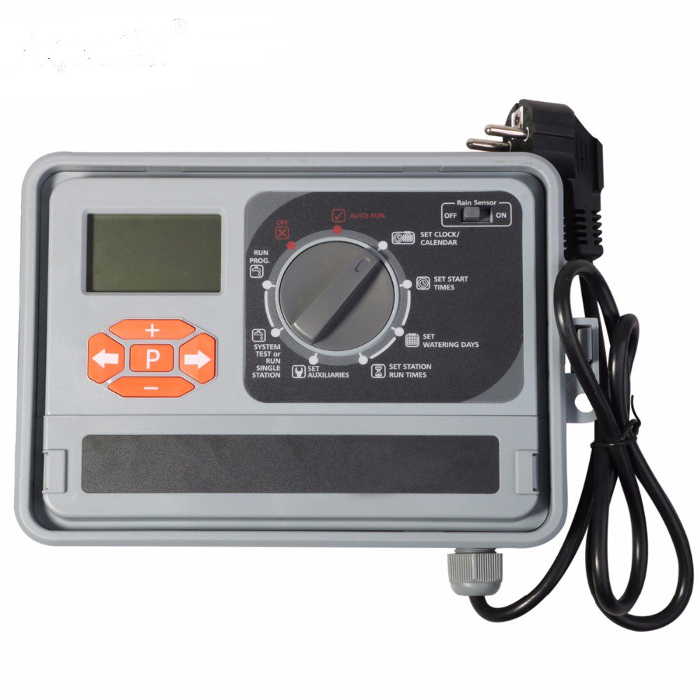 Aqualin 11 Station Garden Automatic Irrigation Controller Water Timer Watering System