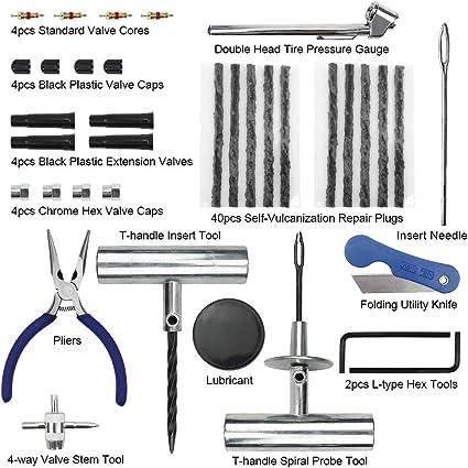 Maikehigh Tyre Repair Kit Auto