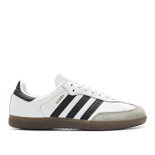 6b896993388a5 adidas Samba Originals Men's Shoes White/Core Black/Clear Granite bz0057