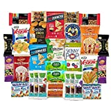 SnackBOX Gluten Free Healthy Snacks Care Package for College Students, Military, Office and Valentines Day. Over 3 LBS of Chips, Popcorn, and granola Bars. (34 Count) Review