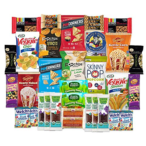 Snackbox Gluten Free Healthy Snacks Care Package For College Students Military Office And Christmas Over 3 Lbs Of Chips Popcorn And Granola Bars