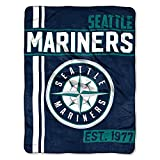 The Northwest Company MLB Seattle Mariners Micro Raschel Throw, One Size, Multicolor