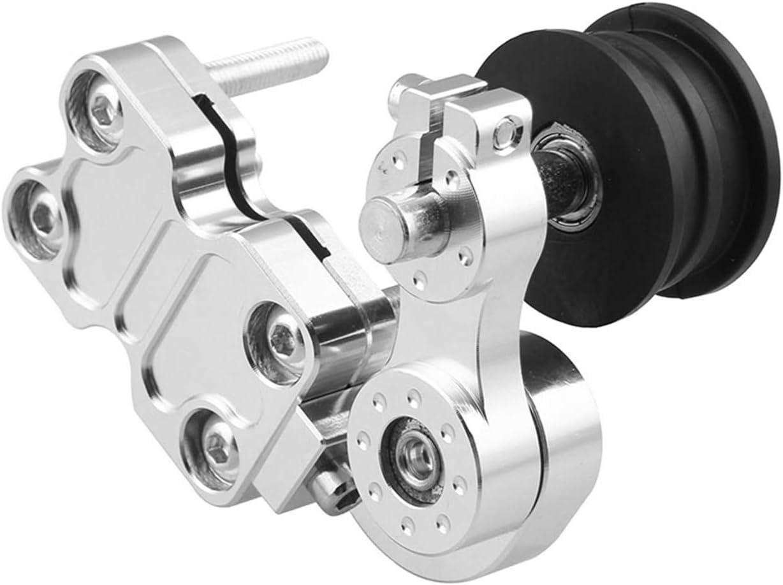 Bruce /& Shark Universal Portable Motorcycle Adjuster Chain Tensioner Bolt On Roller Tool Black