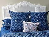 Starry Nights ~ Exotic Batik Euro European Pillow Sham Cover 26x26