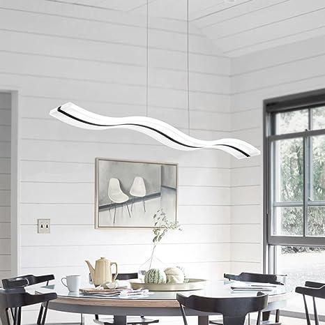 Lámpara colgante LED,Lámpara de techo de diseño moderno altura ...