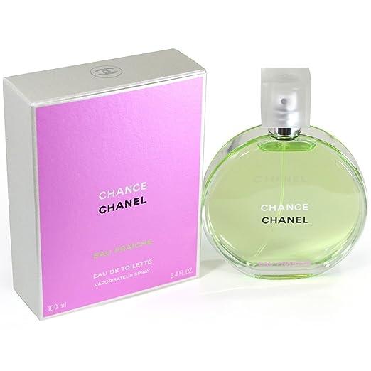 829d9f8674a Amazon.com   Chãnel  Chance Eau Fraiche Eau De Toilette Spray 3.4 Oz.   Beauty
