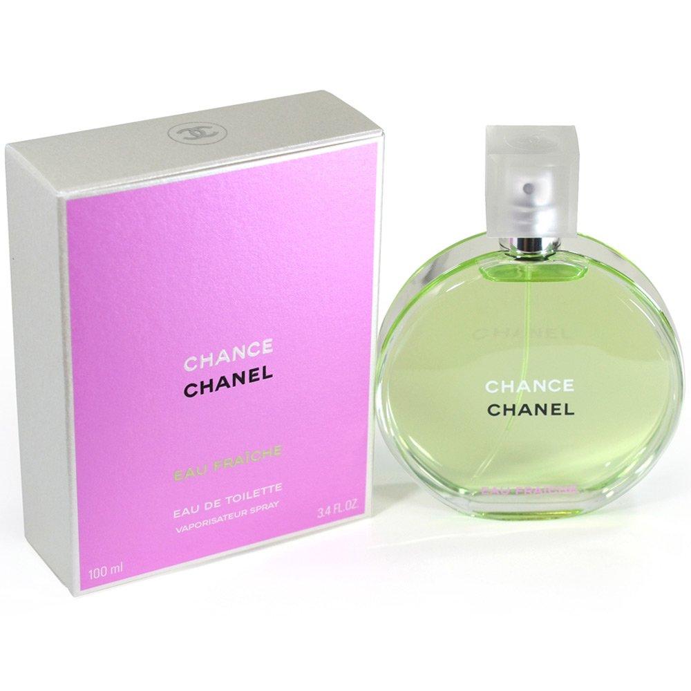 Chane| CHANCE eau Fraiche edt for women 3.4 oz.(100 ml) by Suntimes Shop (Image #2)