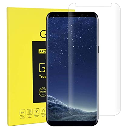 Amazon Com Screen Protector For Galaxy S8 3d Curved Edge Hd
