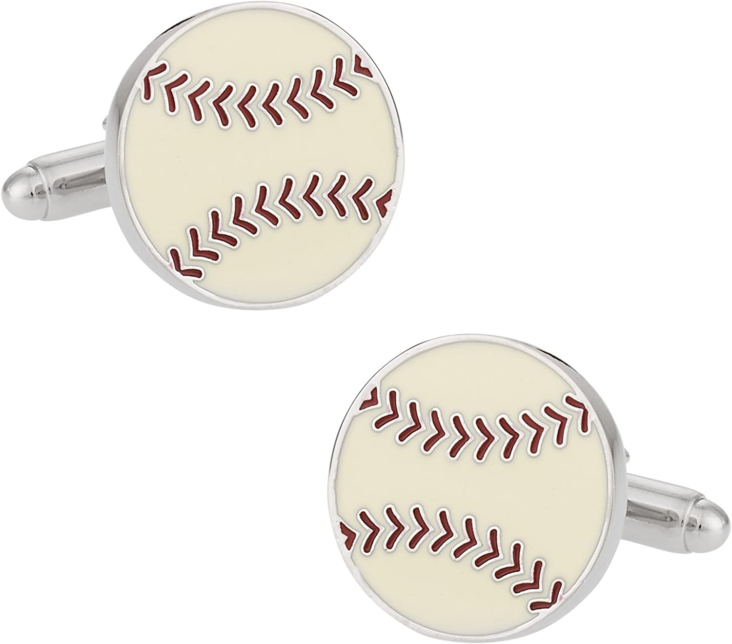 Cuff-Daddy Baseball Ball Cufflinks with Presentation Box