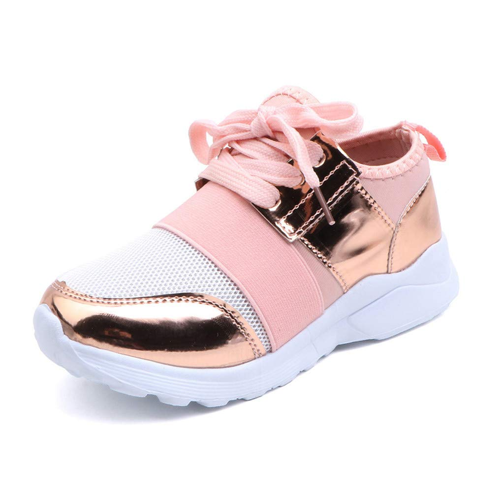 Kids Mesh Sequin Fashion Casual Slip-on Sports Running Sneakers Kstare Casual Shoes for Boys Girls Unisex