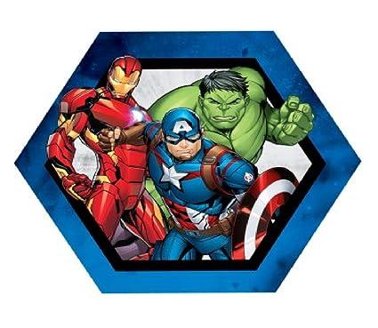 Jerry Fabrics Marvel Heroes 18SC084 Cojín con Forma Tamaño ...