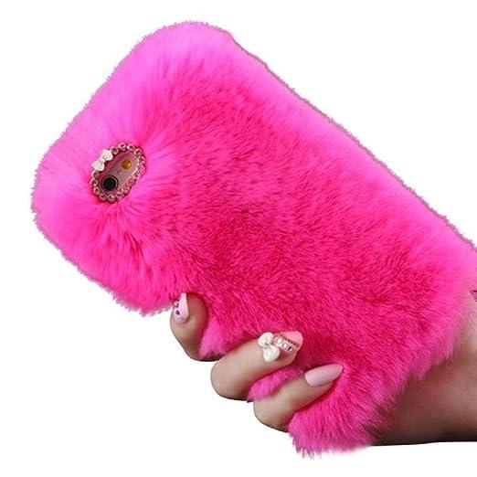 34 opinioni per per iPhone 6 / 6S 4,7 inch Koly® calde soffici villi eco-pelliccia peluche Lana