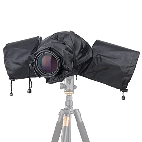 Camera Rain Cover,EMIUP Professional Camera Rain Rainshade Protector For Canon,Nikon,Sony and Other Digital SLR Cameras