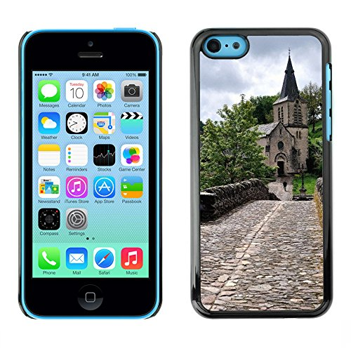 Premio Sottile Slim Cassa Custodia Case Cover Shell // F00008097 église // Apple iPhone 5C