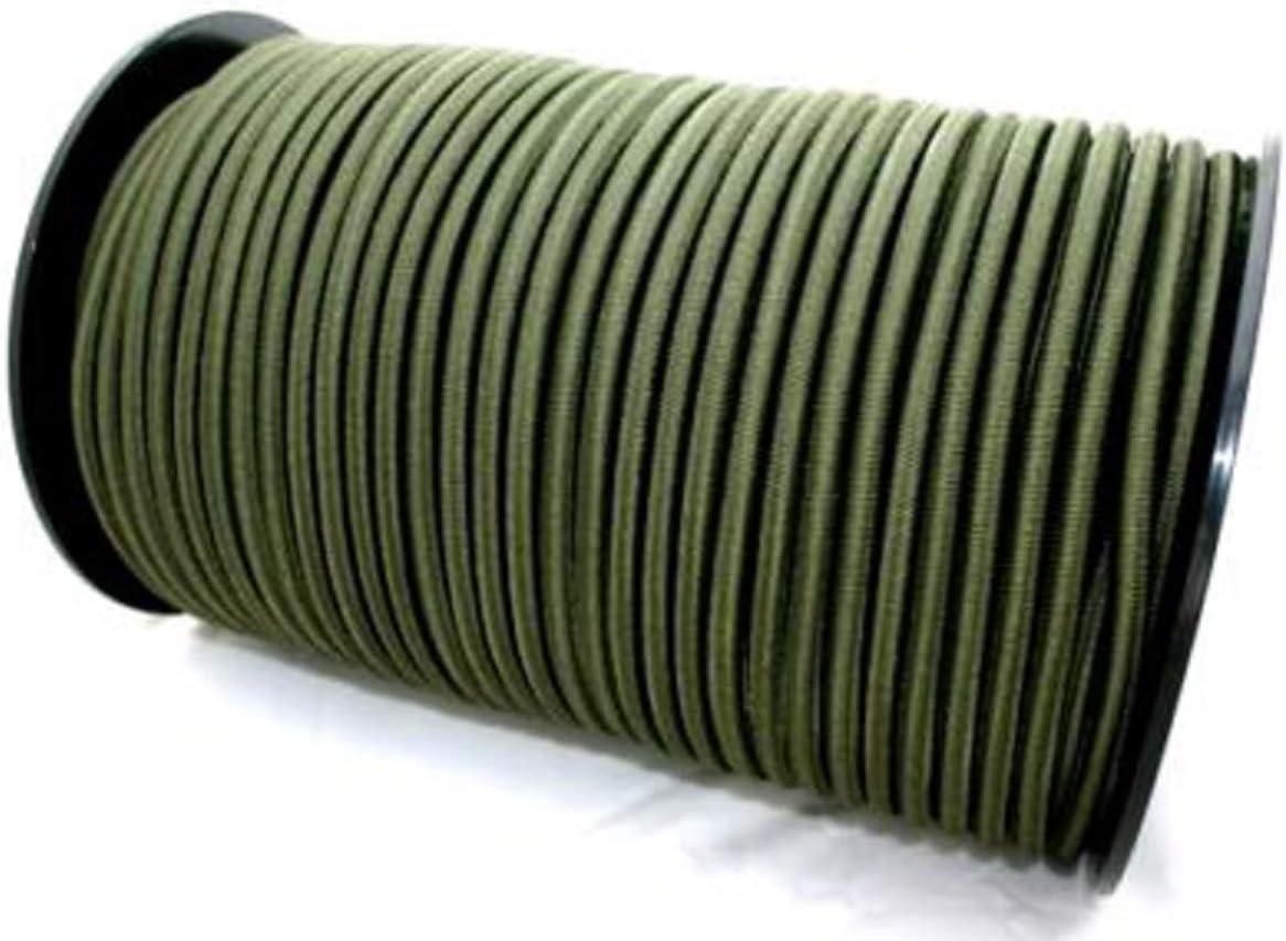 25 m 10mm Gummiseil Schwarz Expanderseil Gummikordel Expanderseil f/ür Plane LKW Netze Zelte Abdeckungen