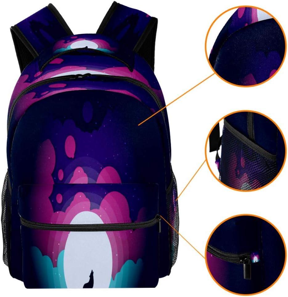 Fox Holwing Backpack Travel Bag Laptop Bag School Bag Bookbag Hiking Camping Rucksack