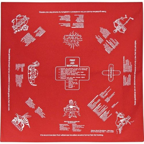 First Aid Emergency Survival Bandana - Design A Bandana