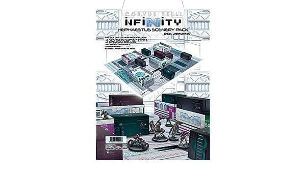 Infinity Scenery: Hephaestus Scenery Pack Corvus Belli Ref. 285056 by Corvus Belli: Amazon.es: Juguetes y juegos