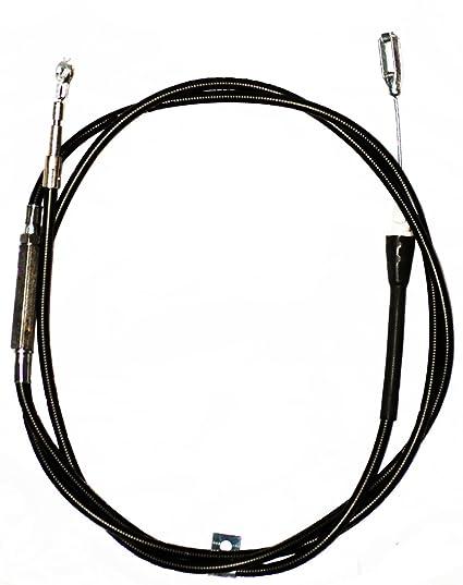 amazon com: genuine oem honda harmony ii hrr216 (hrr2168vka) (hrr2168vya)  walk-behind lawn mowers drive clutch cable: everything else