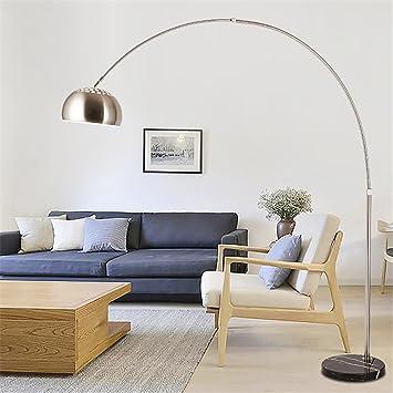 AWSDR® Lampes De Plancher LED Vertical Chambre À Coucher Moderne Simple  Long Arm Mode Lumières
