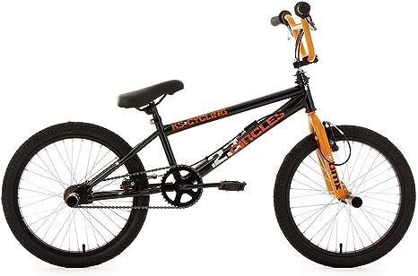 KS Cycling BMX Freestyle Circles - Bicileta BMX , para todas las medidas a partir de 135 cm, color naranja: Amazon.es: Deportes y aire libre