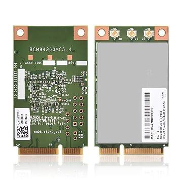 Richer-R Tarjeta WiFi,Tarjeta de Red 1300 Mbps 5 GHz,pci ...