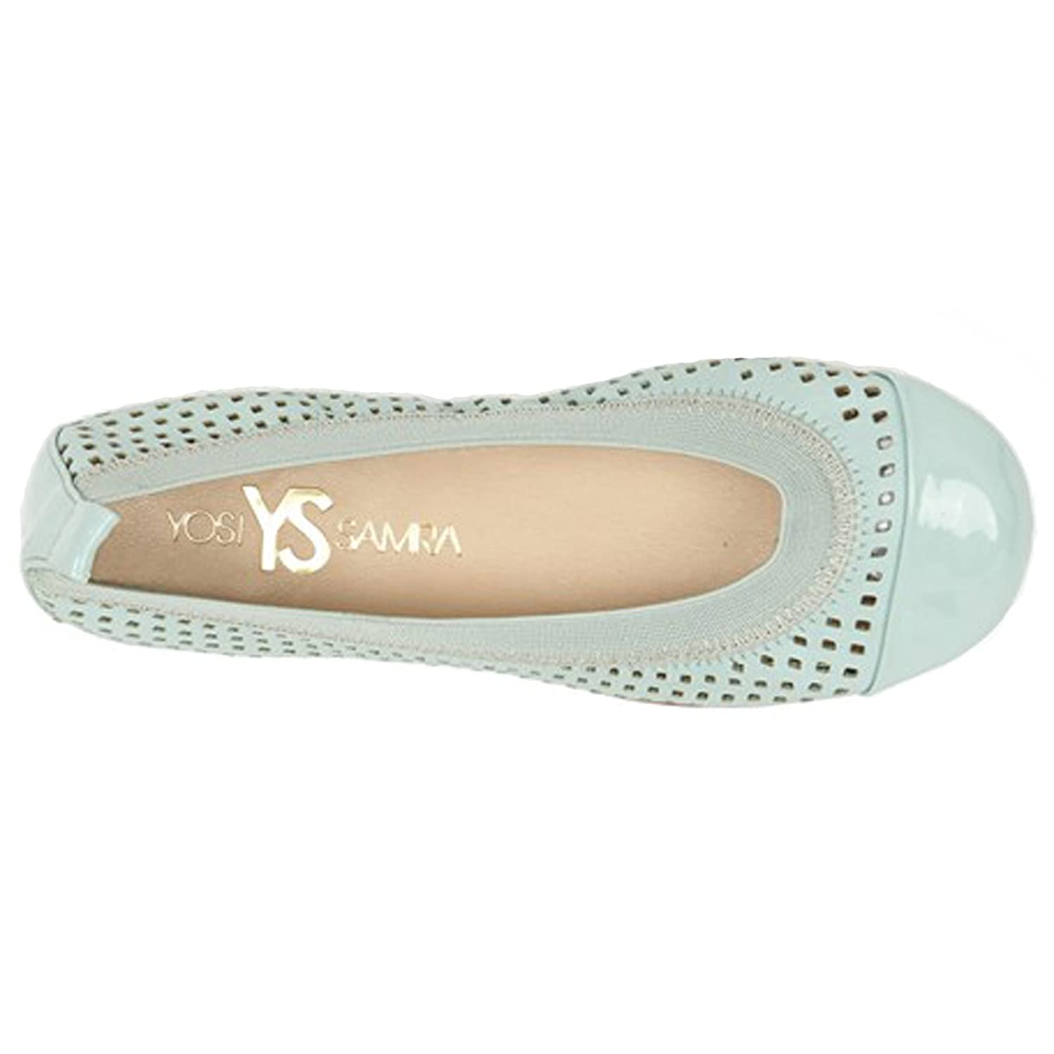 Yosi Samra Toddler//Little Kid//Big Kid Scarlett Alsina Leather Ballet Flat Shoes