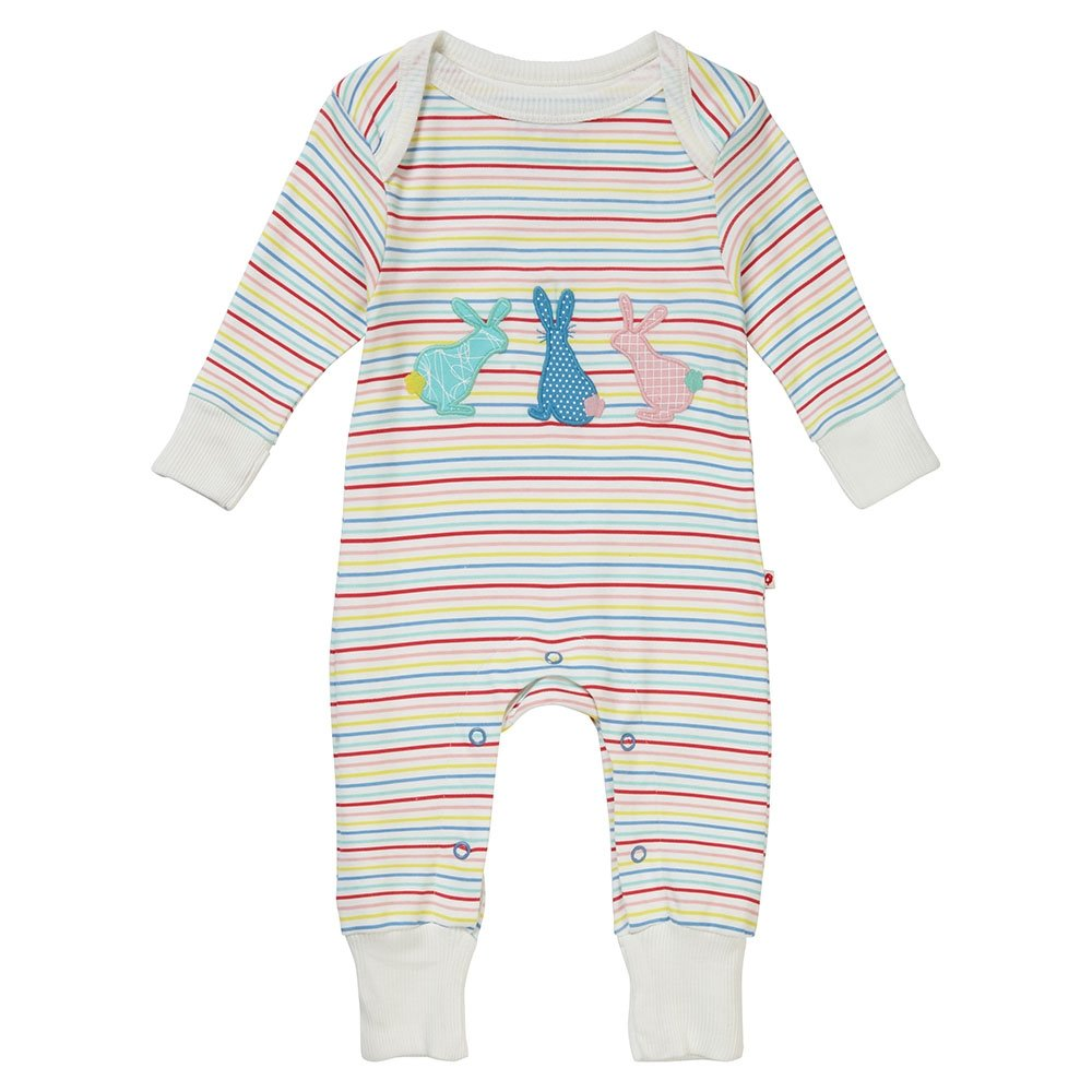 Piccalilly Baby Playsuit - Hopping Bunny