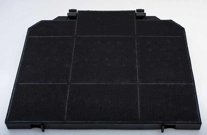 daniplus - Filtro de carbón activo, filtro de carbón 264 x 235 x ...