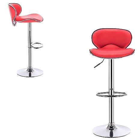 Stupendous Amazon Com Bar Stools Set Of 2 With Backrest Base Dining Machost Co Dining Chair Design Ideas Machostcouk