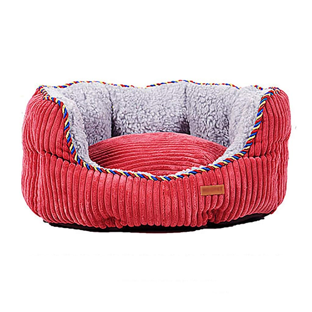 B 605220Pet Supplies Pet house kennel Cat nest pet Sofa bed Washable Small medium and large dog four seasons universal pet nest (color   A, Size   115  100  20)