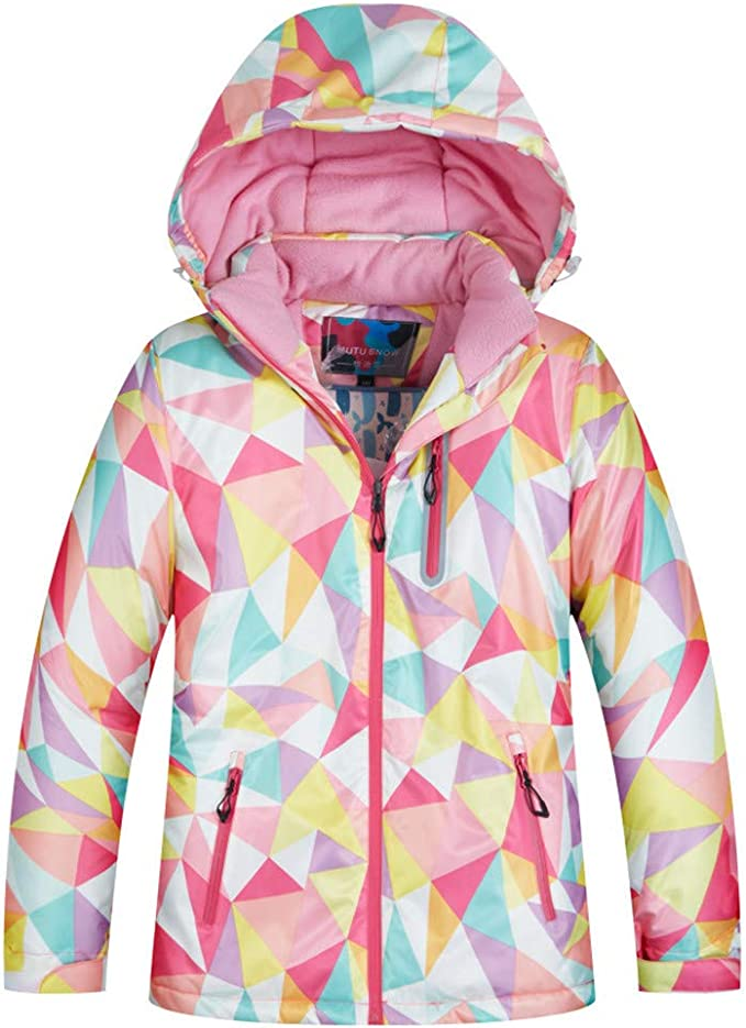 Trespass VANETTA Youth Girls Waterproof Winter Snow Sports Coat Ski Jacket
