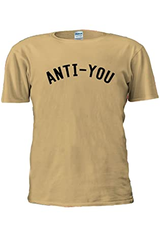 Anti You Anti You Tumblr Instagram Facebook Unisex T Shirt Top Men