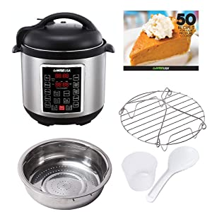 GoWise USA GW22620 4th Generation Electric Pressure Cooker