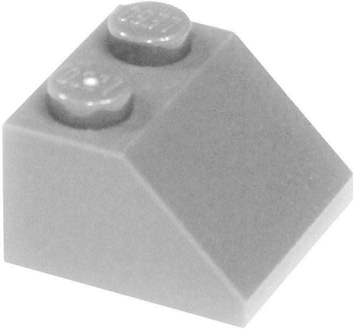 LEGO Parts and Pieces: Light Gray (Medium Stone Grey) 2x2 45 Slope x50
