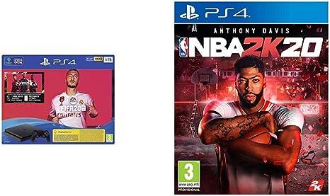 PlayStation 4 (PS4) Consola de 1TB + FIFA 20 + NBA 2k20: Amazon.es ...